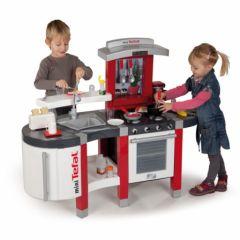 cuisinere tefal pour enfant cuisinere four plaque cuisson frigo robinet pour jouer à deux fille garçon avec dinette