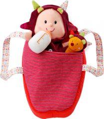 bebé poupée en tissu avec son doudou et son couffin cadeau petite fille à partir de 2 ans bebe lilliputiens bebe lucy.png