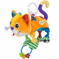 jouet à accrocher à la poussette chat activités pour s'amuser en poussette dans la voiture anneau cadeau fille garçon 3 mois, 6 mois, 9 mois.jpg