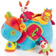 vache d'activités pour bébé avec doudou pour jouer, pour toucher cadeau noel pas cher pour bébé.jpg