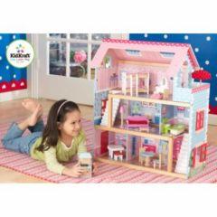 maison de poupee en bois cadeau noel anniveraire fille 4 ans, 5 ans, 6 ans maison pas cher pour jouer à la poupée.jpg