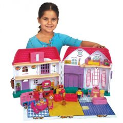 maison de poupee pas cher avec meubles et accessoires et 2 personnages jeu jouet cadeau fille 4 ans, 5 ans, 6 ans, 7 ans, 8 ans.jpg