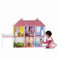 maison pour barbie et monster high poupee mannequin maison 6 pièces pas cher cadeau fille 3 ans, 4 ans, 5 ans, 6 ans et plus pas cher.jpg