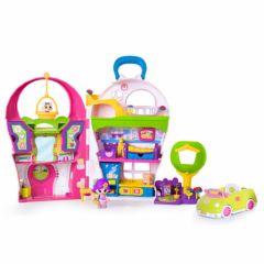 maison de poupee jeux et jouets pour enfant cadeau pour fille 3 ans 4 ans 5 ans 6 ans 7. Black Bedroom Furniture Sets. Home Design Ideas