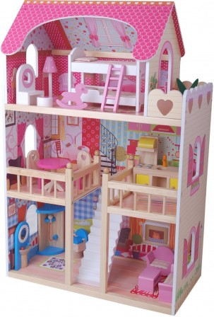 Maison De Poupee Jeux Et Jouets Pour Enfant Cadeau Pour Fille 3