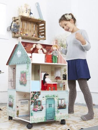 Maison de poupee jeux et jouets pour enfant cadeau pour fille 3 ans 4 ans 5 ans 6 ans 7 - Idee cadeau garcon 8 ans ...