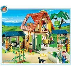 id e cadeau pour un enfant partir de 4 ans la ferme playmobil jeux jouets. Black Bedroom Furniture Sets. Home Design Ideas