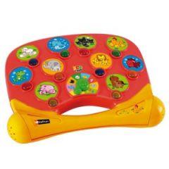 tablette d'activités pour enfant 2 ans 2 ans et demi 3 ans 4 ans pour apprendre le cri des animaux ecouter toucher reconnaitre decouverte mot langage cadeau anniversaire noel