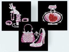 loisirs creatifs creation en paillettes tableau decoratif fille 8 ans, 9 ans, 10 ans, 11 ans, 12 ans cadeau noel anniversaire fille