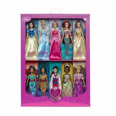 poupée princesses disney coffret de 10 poupées princesse disney aurore tania blanche neige belle ariel petite sirène pocahontas jasmine cadeau fille 4 ans 5 ans 6 ans 7 ans 8 ans