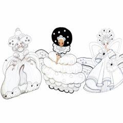 princesse à décorer avec gommettes cadeau fille 6 ans, 7 ans, 8 ans, 9 ans, 10 ans, 11 ans, 12 ans, cadeau fille noel anniversaire