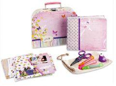 scrapbooking enfant valise matériel scrap et idée pour enfant 6 ans, 7 ans, 8 ans, 9 ans, 10 ans initiation au scrap enfant