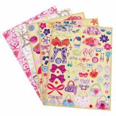 stickers pour decorer robe de princesse cadeau fille noel anniversaire