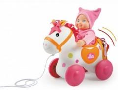 jeu jouet fille 2 ans cadeau fille 2 ans cheval à tirer mini kiss smoby cadeau pas cher pour petite fille de 2 ans.jpg