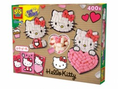 cadeau fille 6 ans, 7 ans, 8 ans Hello kitty funmais composer des decorations hello kitty en collage activités manuelles hello kitty.jpg