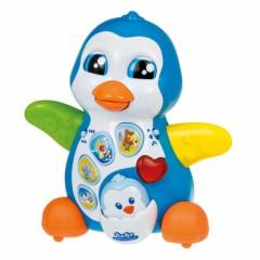 jouet eveil bébé animaux maman pinguoin ecouter musique et appuyer sur bouton jeu jouet motricité bébé.jpg