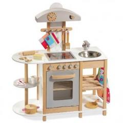 Cuisine En Bois Jouet Pas Cher Cuisine Enfant Jouet Enfant - Jeux de cuisine de noel