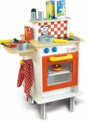 cuisine en bois 4 ans, 5 ans, 6 ans et plus avec four et plaque de cuisson cuisine en bois villac jeu jouet cadeau enfant fille garçon pas cher.jpg