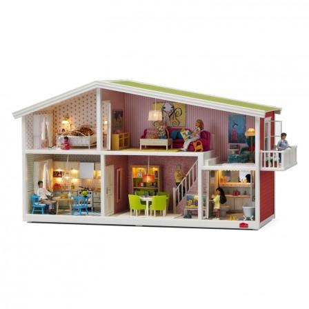 Livraison Gratuite Maison_de_poupee__etages_avec_eclairage_livre_sans_meuble_et_sans_poupee_belle_maison_pour_jouer_a_la_poupee Jpg