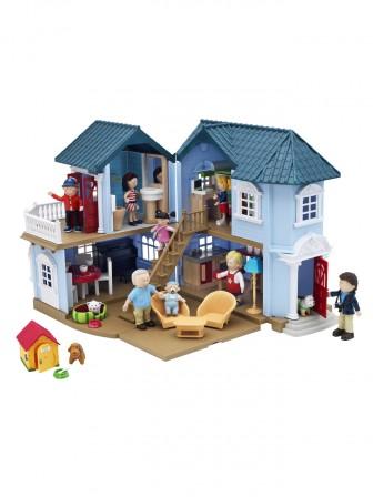 Maison de poupee jeux et jouets pour enfant cadeau pour for Maison de valerie meuble