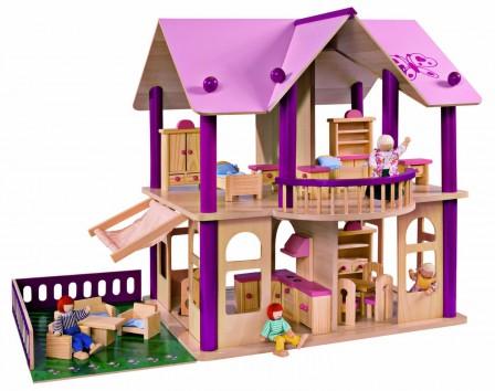 Maison de poupee jeux et jouets pour enfant cadeau pour for Maison plastique enfant pas cher