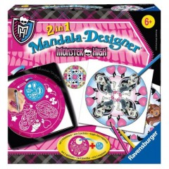 loisirs creatifs cadeau jouet monster high mandala monster high.jpg