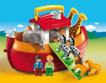 playmobil en promotion pas cher arche de noe avec animaux et personnages inventer des histoires cadeau