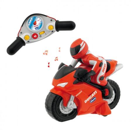 jeux et jouets pour gar ons partir de 2 ans la moto friction rouge et jaune jeux jouets. Black Bedroom Furniture Sets. Home Design Ideas