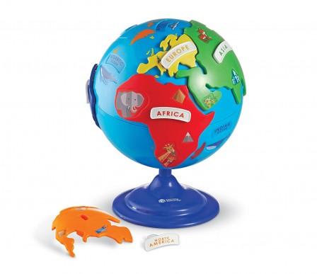 id e cadeau pour enfant de 3 6 ans mon premier globe terrestre jeux jouets. Black Bedroom Furniture Sets. Home Design Ideas