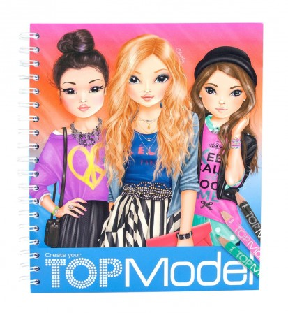 top model coloriages coloriage imprimer top model