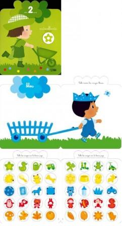 Activités creatives pour enfants de 2 ans, 3 ans, maternelle : jeu de collage pour fille ou ...