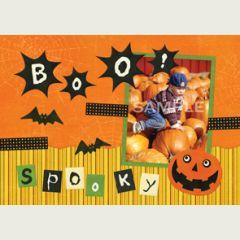 Halloween pages de scrapbooking t l chargement et impression gratuite de kits halloween pour - Idees loisirs creatifs gratuit ...