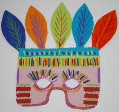 Fabriquer masque pour le carnaval id es bricolage pour - Idee pour le carnaval ...