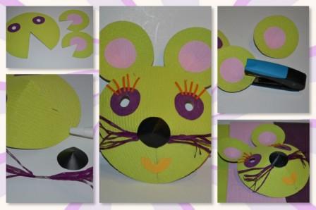 Fabulous Fabriquer masque pour le carnaval : idées bricolage pour enfants  LG01