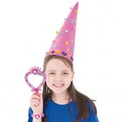 activités manuelles deguisement carnaval chapeau en mousse à décorer pas cher original anniversaire princesse fée.jpg