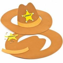 activités maternelle garçon fabriquer un chapeau de cowboy facile decorer chapeau deguisement carnaval.jpg