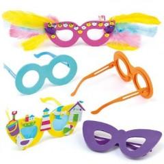 fabriquer des lunettes pour le carnaval lunettes en mousse à décorer pour enfant deguisement anniversaire carnaval activités manuelles.jpg