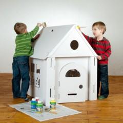 d corer une maison de poup e en carton un ch teau une fus e jeu et jouets en carton pour. Black Bedroom Furniture Sets. Home Design Ideas