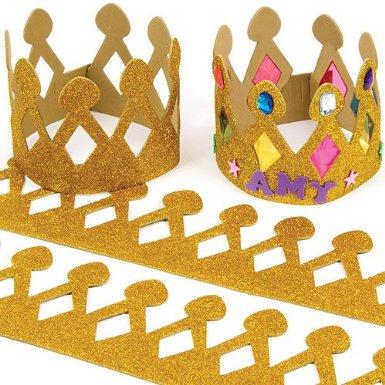 Couronne des rois pour enfants imprimer d couper et for Decoration galette des rois