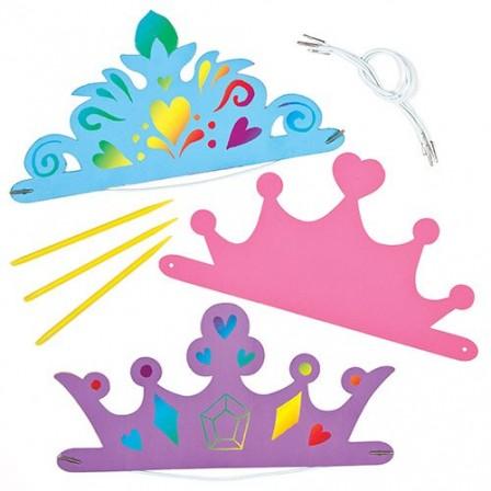 fabriquer une couronne en papier cartonn pour les enfants. Black Bedroom Furniture Sets. Home Design Ideas