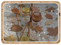 Mot cl papillon deco de table univers cr atif - Deco de noel a faire soi meme pas cher ...