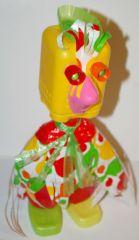 Bricolage Avec Recup pâques : bricolage enfant avec du matériel de récup : la poulette