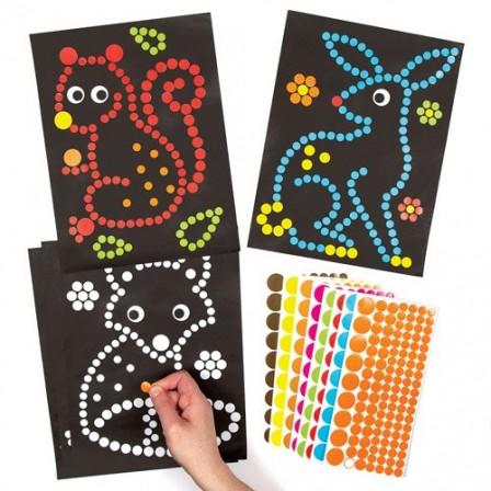 Coloriages gommettes enfant pour assistante maternelle - Coloriage pour 2 ans ...
