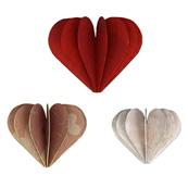 Papillon en papier fleur en papier coeur en papier toile en papier fabr - Faire un coeur en papier ...
