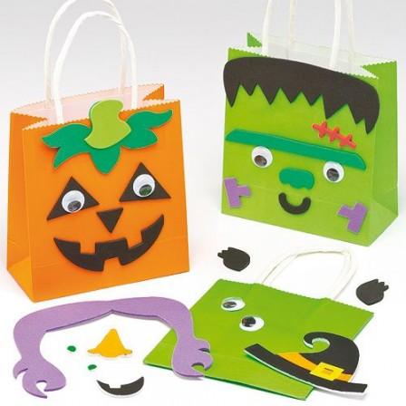 halloween id e bricolage activit s manuelles faciles avec les enfants mat riel pas cher et. Black Bedroom Furniture Sets. Home Design Ideas