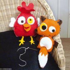 Kits pour enfant apprendre coudre initiation la - Fournitures loisirs creatifs pas cher ...