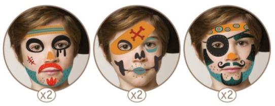 Extrêmement maquillage enfant, maquillage fête, anniversaire, carnaval  ZK07
