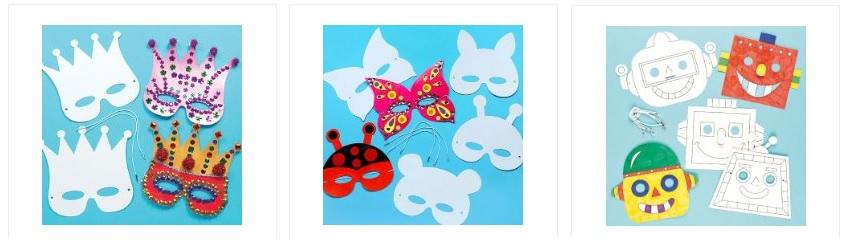 Fabriquer masque pour le carnaval id es bricolage pour enfants et activit s manuelles - Activites manuelles pour enfants ...