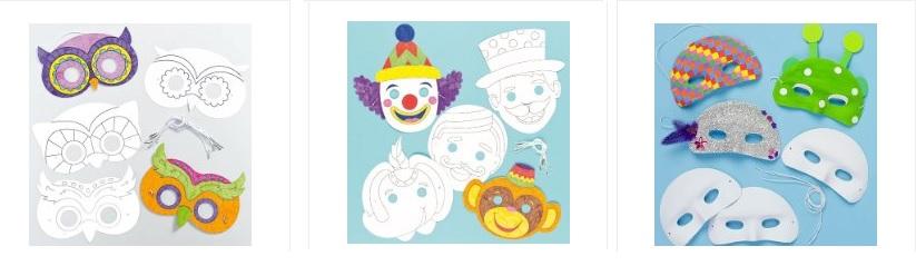 Fabriquer masque pour le carnaval id es bricolage pour for Rehausseur 3 ans et plus
