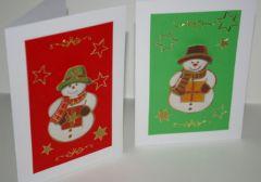 Carte De Noel Facile à Fabriquer Avec Les Enfants Activités De Noel